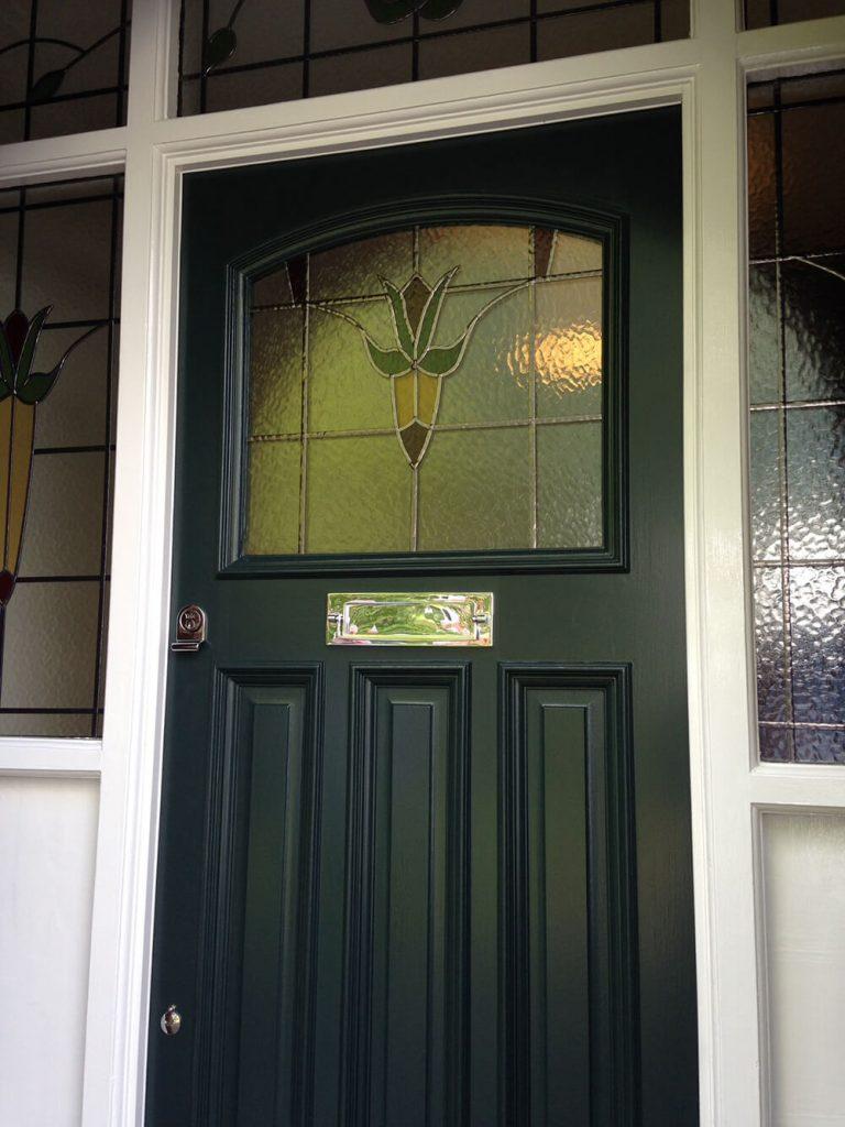 1930's Edinburgh Front Door