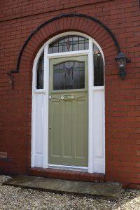 1930s Front Door Restoration Warrington