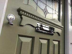 Jessica's 1930's Replica Front Door