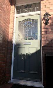 1930s Replica Front Door in Manchester