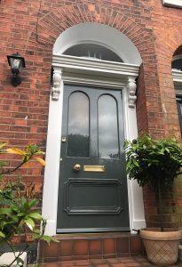 Arched Top Front Door Restoration Sale