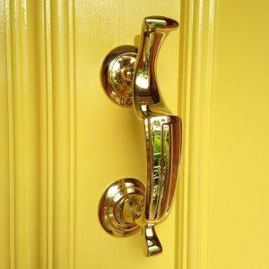 Brass Doctor Door Knocker M45