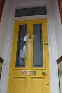 Etched Glass Door Panels