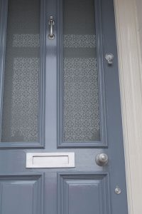 Etched Glass Panels for door