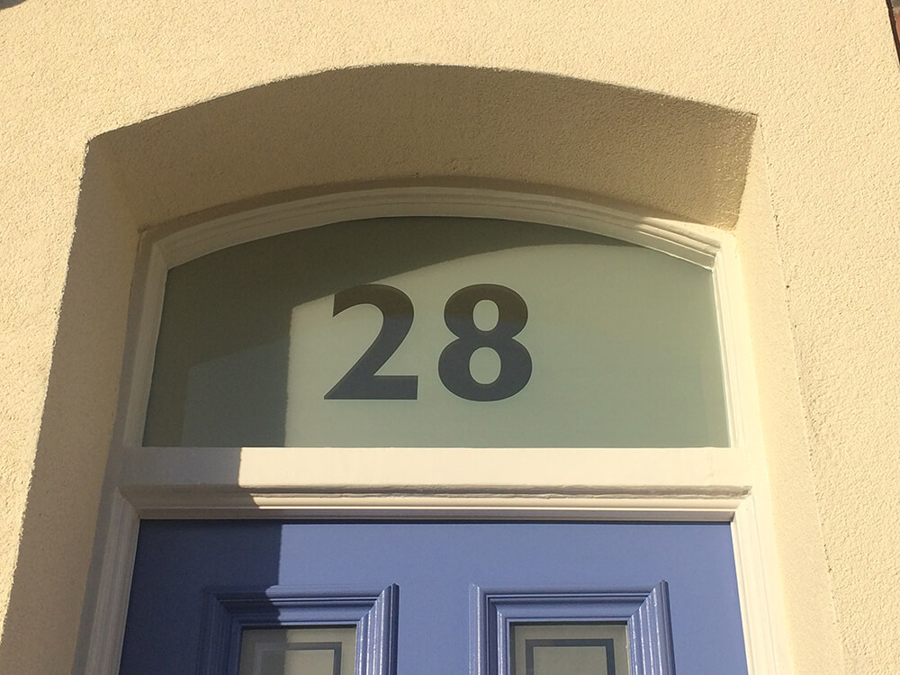 Fanlight Door