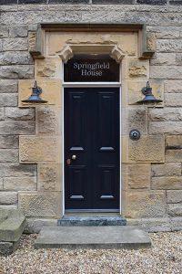 Georgian Front Door Restoration c1782