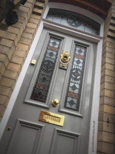 New Victorian front doors