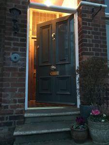 Grey Front Door