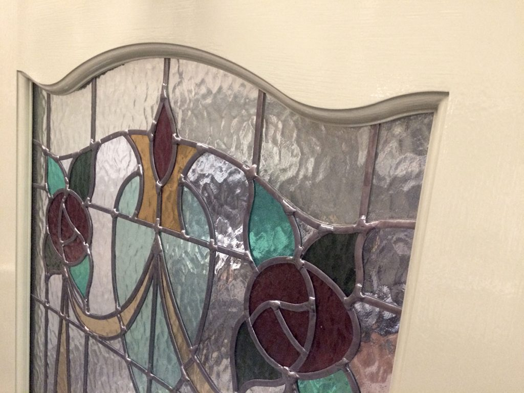 Jessica's 1930s stained glass