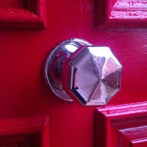 M219 Octagonal Door Pull