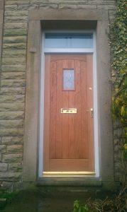Oak Cottage Front Door