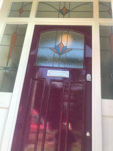Purple Front Door Images