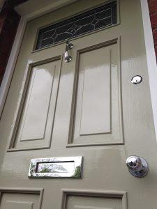 Regency Style Door