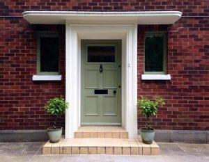 Edwardian front door in Bolton