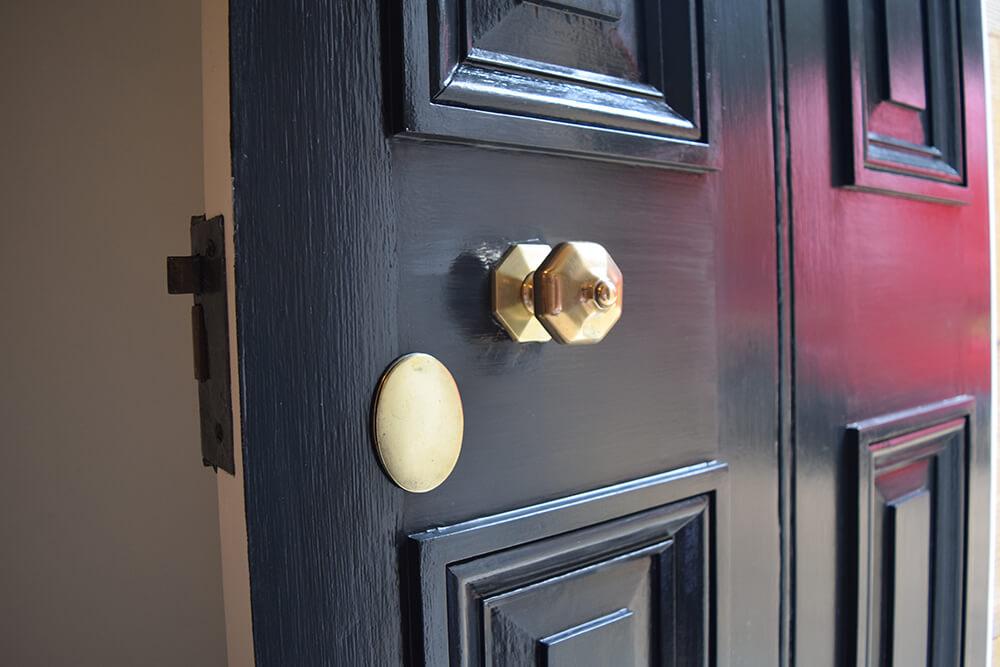 Restored Georgian Front Door
