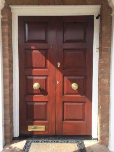 Restored Panelled Doors
