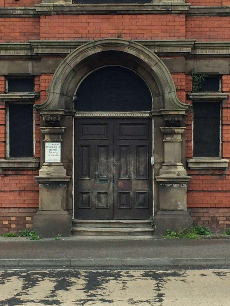 St Thomas Hospital Stockport front door