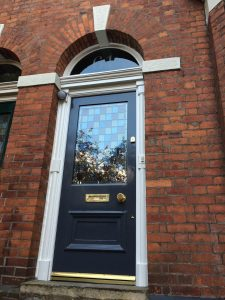 Victorian Front Door Didsbury Encapsulated Glass