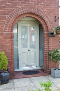 Victorian Front Door Olive in Bolton