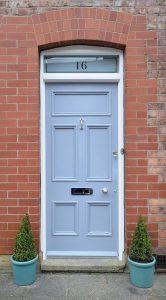 Victorian Front Door (c1890) Restoration – Altrincham 2015