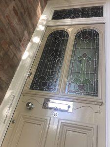 Victorian Front Door Restoration Heaton Moor