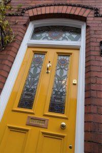 Victorian Front Door in Liverpool