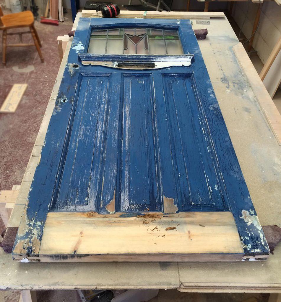 phils 1930s front door restoration