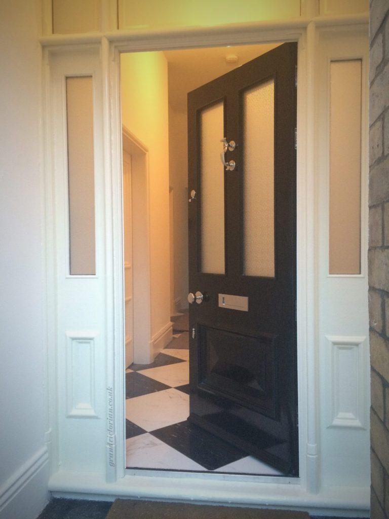 Victorian front door restoration in Didsbury 13-M20-2GY