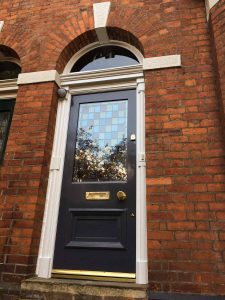 David's Victorian restoration with leaded glass in Didsbury