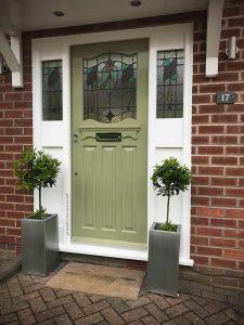 1930s front door in Didsbury 17 M20 6QD