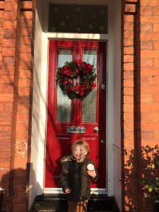 Kate's Grand Victorian front door in Chorlton