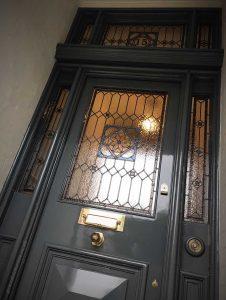 Victorian front door restoration in Urmston