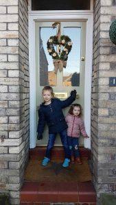 Matt's Grand Victorian front door in Altrincham