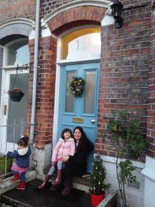 Serena and her Grand Victorian front door in Sale