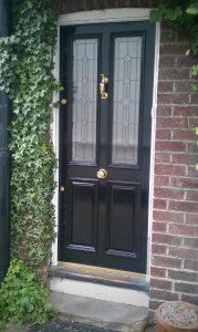 Charlotte's Grand Victorian front door in Chorlton 98-M21-8DF