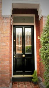 Victorian front door in Prestwich 2-M25-3JW