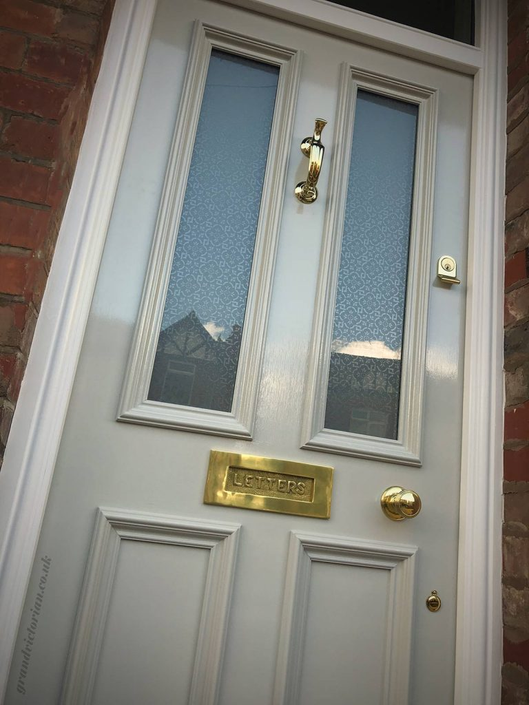 Victorian front door in Altrincham 15-WA15-9LP