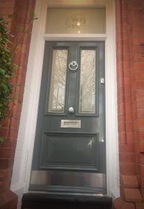 Will's Victorian front door in Sale Manchester 35-M33-2HT