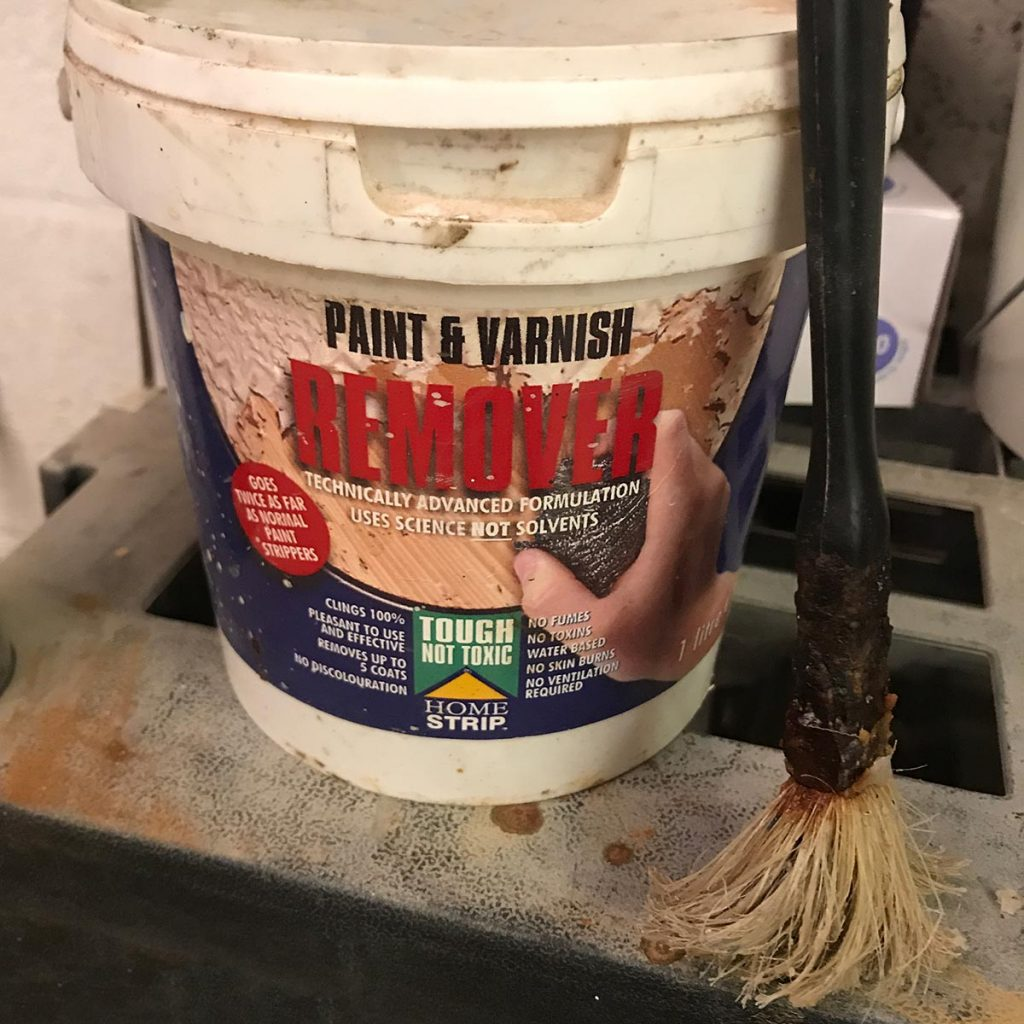 Home strip paint stripper