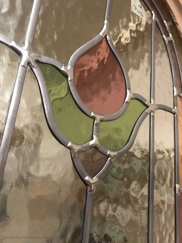 Leaded glass before aging