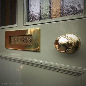Brass Front Door Furniture