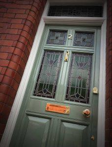 Joanne's Victorian front door revamp in Chester