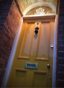 York rose 1875 Victorian front door restoration 9 YO31 8LG