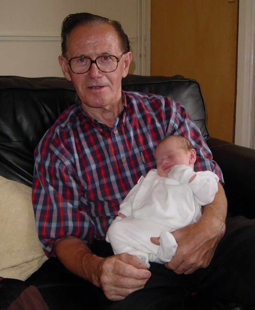 Chris Waldron and grandson Jack 2006
