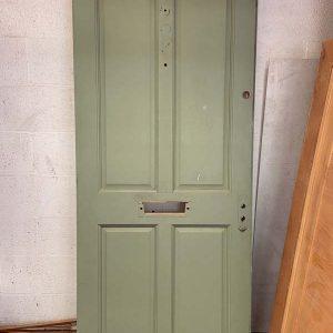 Hardwood 4 Panel Victorian Front Door 840x1980x45