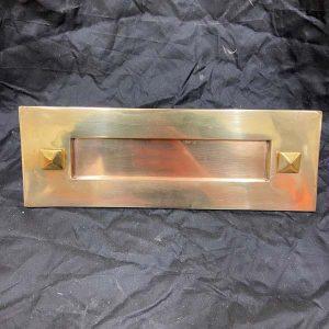 Victorian Solid Brass Letter Plate (LTP-V-SB-1)