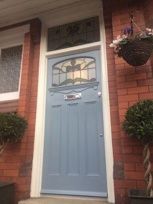 1920s Front Door Restoration Didsbury