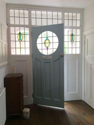 1930s Front Door Restoration Altrincham