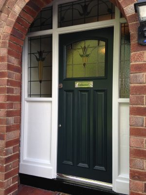 1930's Front Door in Bramhall
