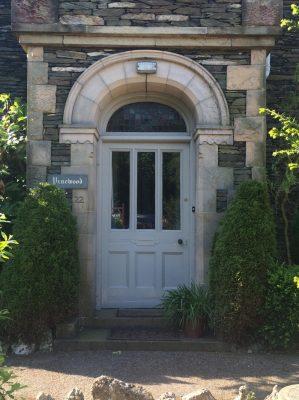 Arched Fanlight Front Door